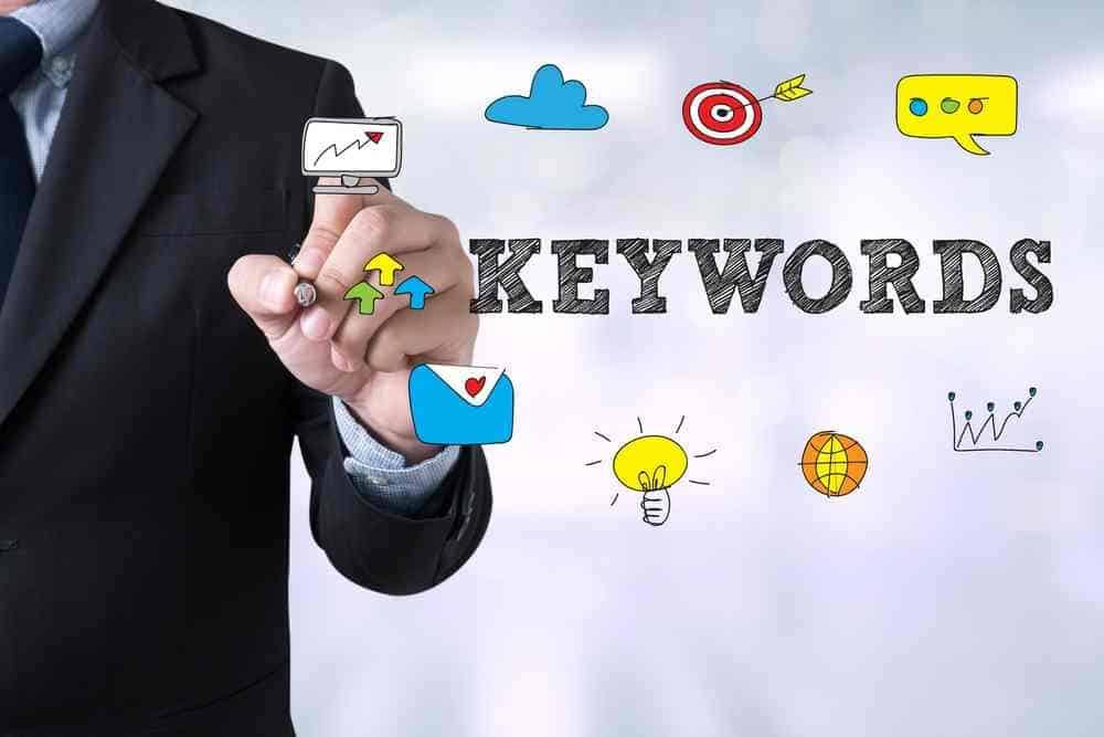 What are keywords in advertising?